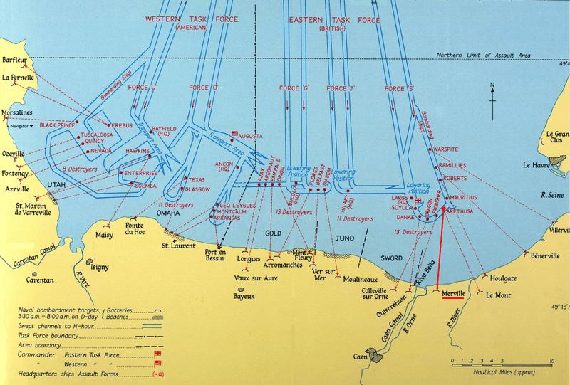 carte-plage-debarquement-normandie