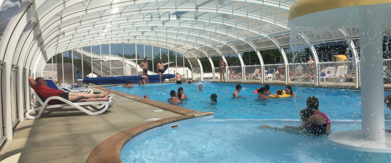 Camping capfun golf campings normandie - Camping normandie avec piscine couverte ...