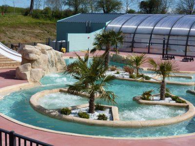 piscine couverte camping les îles